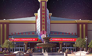 Movies Corona Crossings Edwards 18